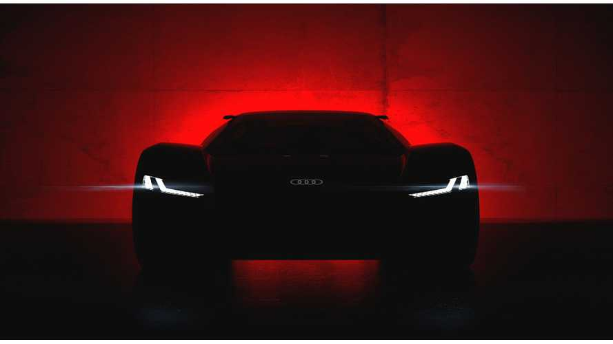 Audi Teases PB18 e-tron Electric Supercar