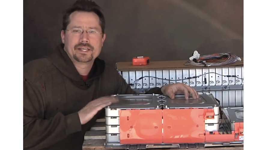 Nissan LEAF Battery Module Teardown Videos