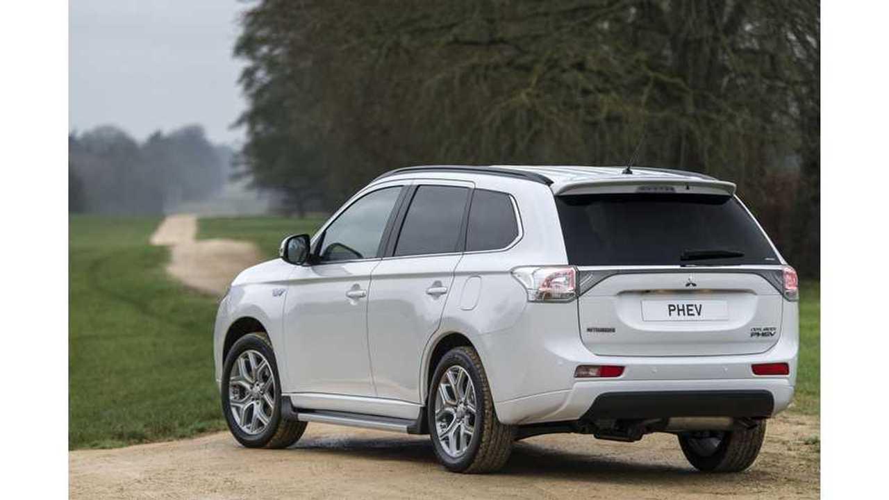 Mitsubishi Outsells Honda In Europe Thanks to Outlander PHEV Success