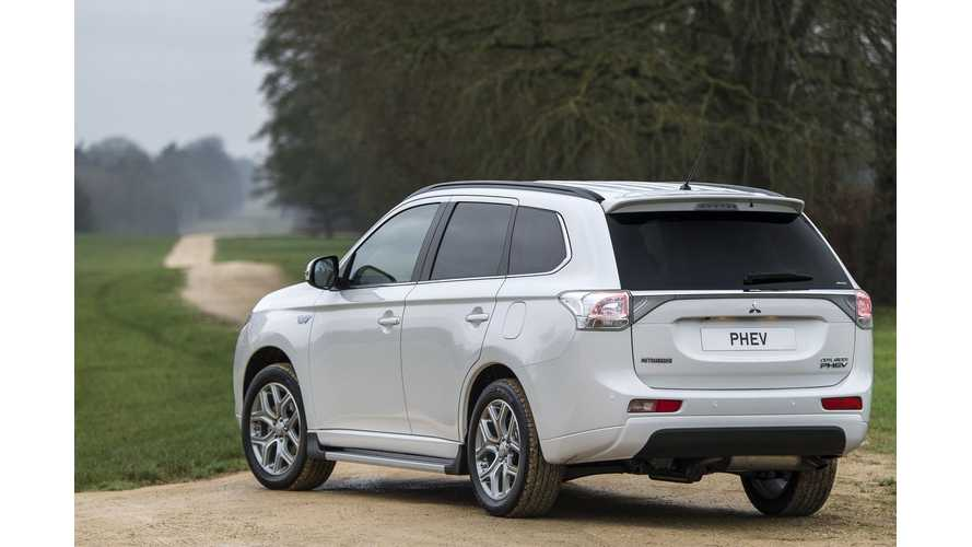 Mitsubishi Outsells Honda In Europe Thanks to Outlander PHEV Success