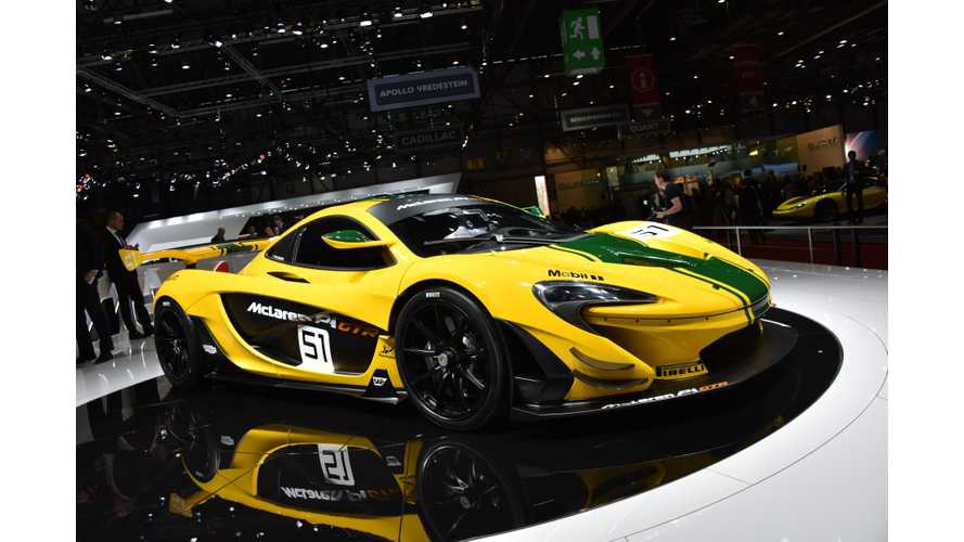 Road-Legal McLaren P1 GTR Coming Soon
