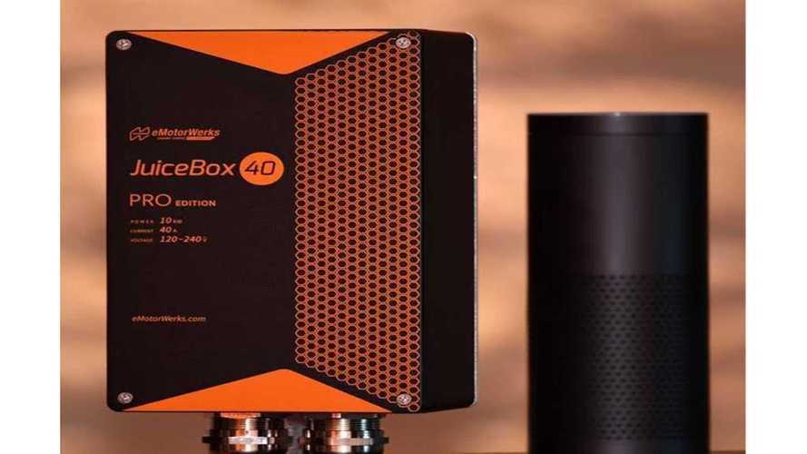 Amazon Alexa Voice Tech Added to eMotorWerks' JuiceNet Platform
