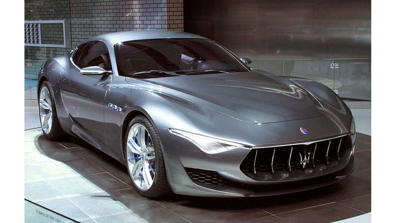 Maserati Alfieri Concept Headed To Production As Pure Electric Car In 2020