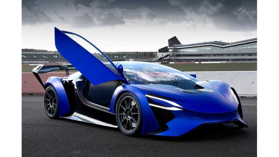 "This Chinese ""Pure"" Electric Supercar Apparently Has Range Of 1,243 Miles"
