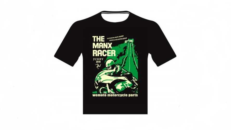 Isle Of Man Motorcycle T-Shirt On Sale For Charity