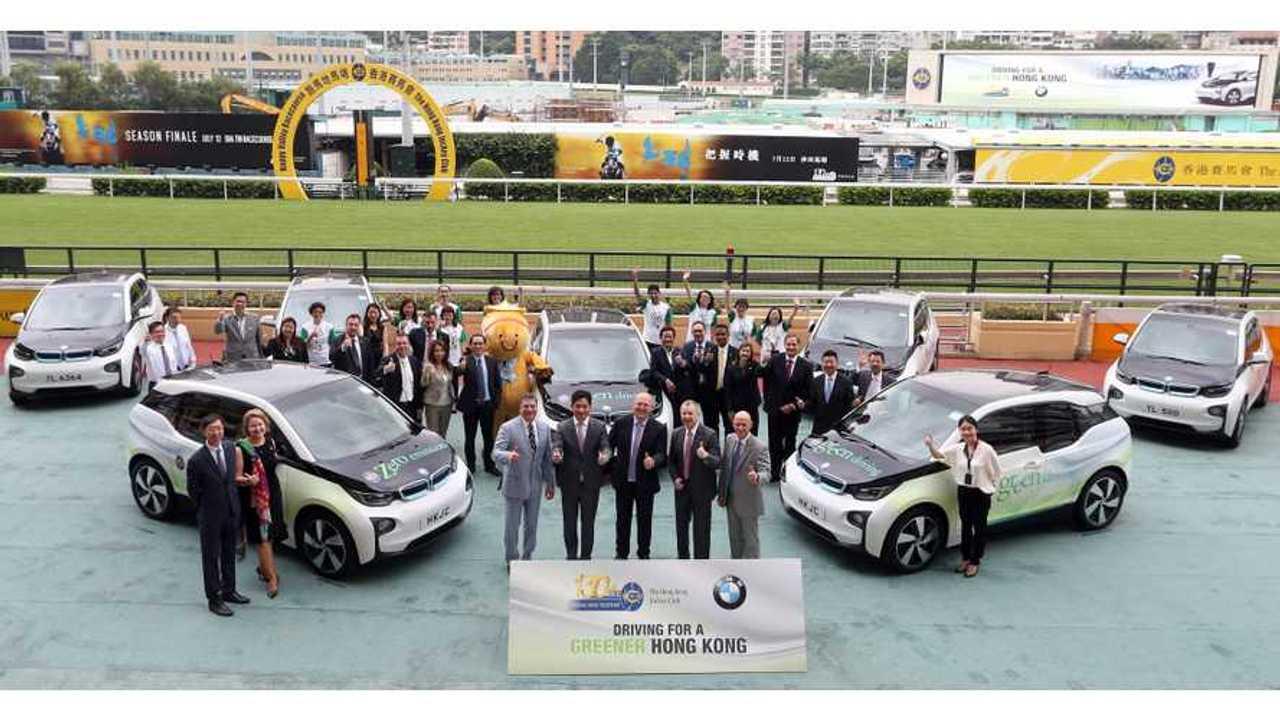 HKJC BMWi3 handover