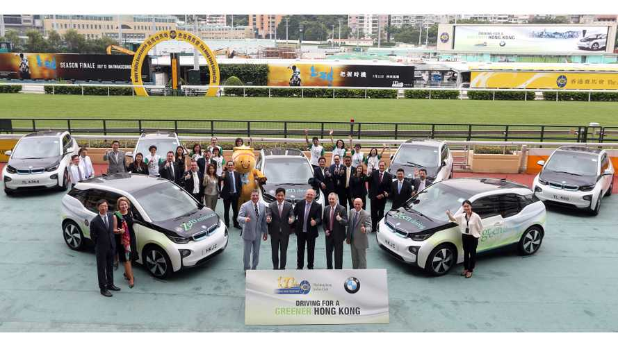 Hong Kong Jockey Club Expands Electric Vehicle Fleet And Charging Network