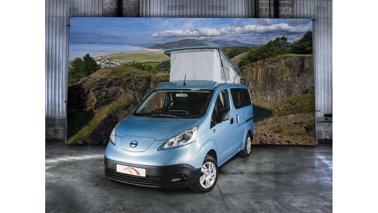 Converted Nissan e-NV200 Dalbury E Electric Campervan Review