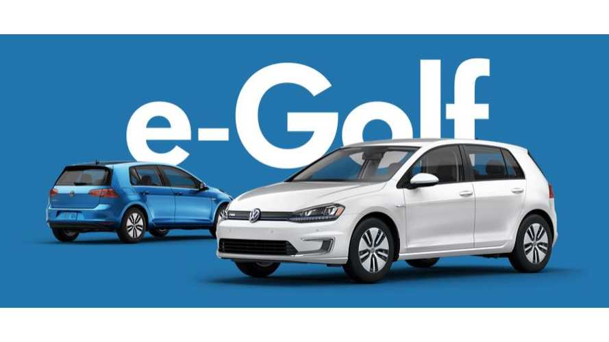 "Volkswagen e-Golf Tagline: ""One Drive And You'll Almost Forget It's Electric"""