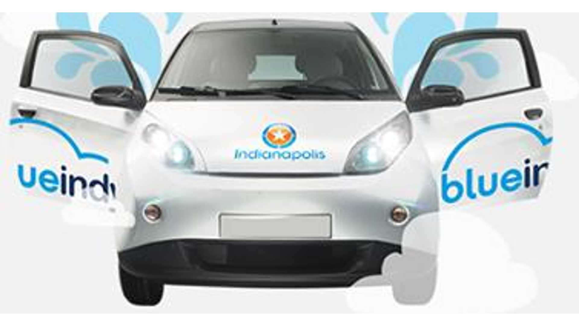 Launch Of Indianapolis' BlueIndy Electric Car Sharing