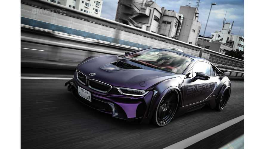 "BMW i8 EVO ""Dark Knight"" Edition Is A Tribute To Batman"