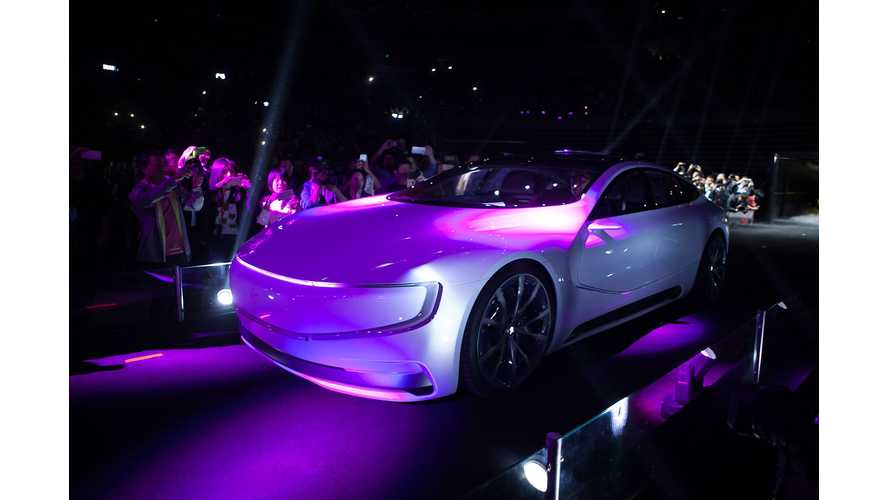 LeEco Not Approved To Sell Electric Cars In China