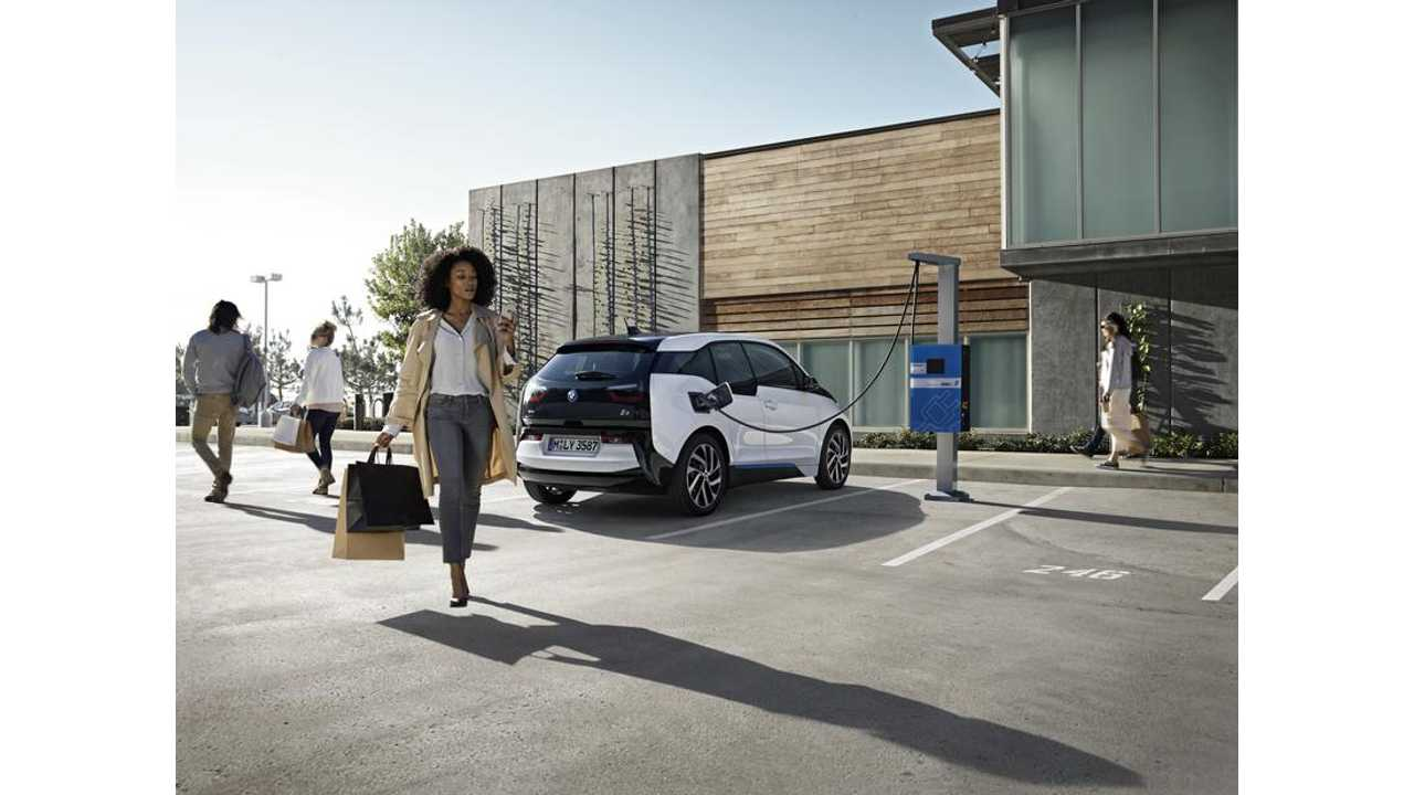 2017 BMW i3 Getting A DC Fast Charge