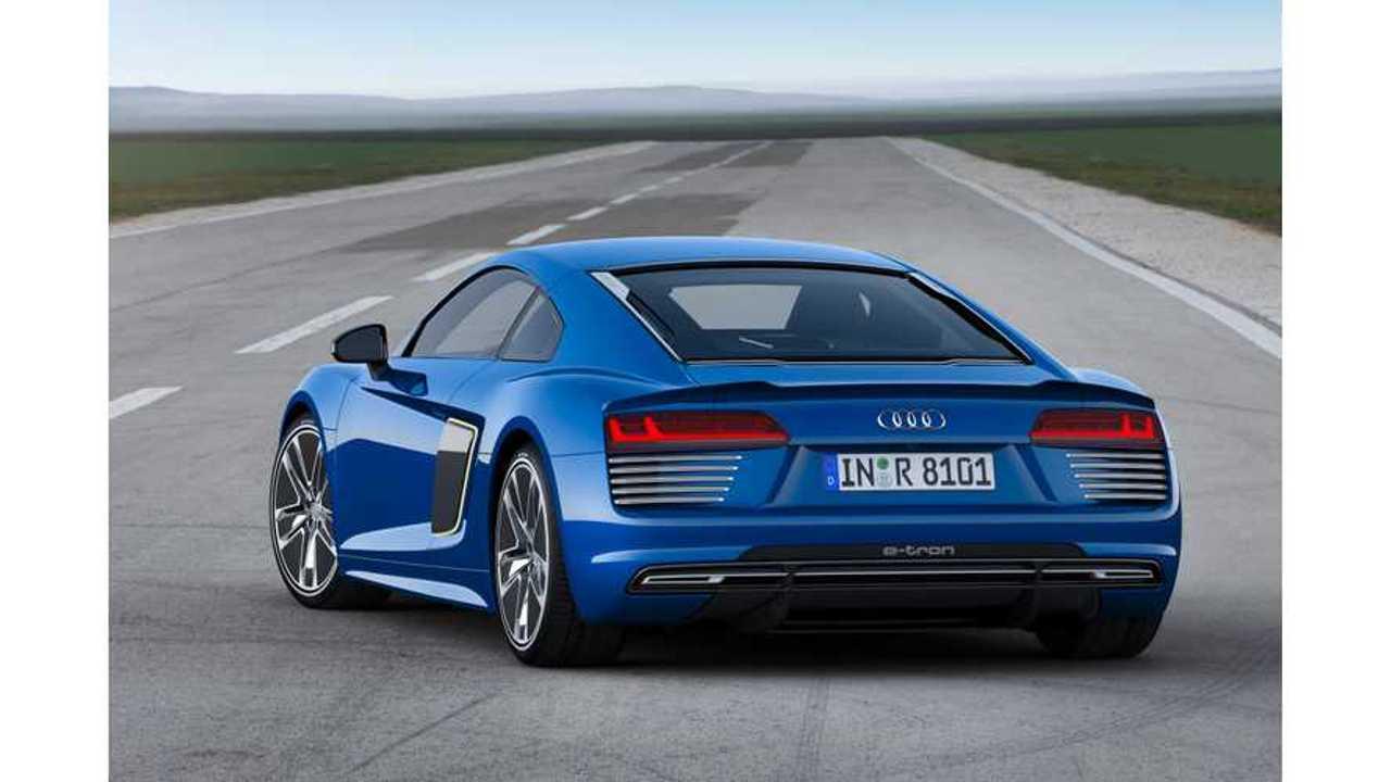 The Audi R8 e-tron, Like The Tesla Model S, Uses 18650 Battery Cells