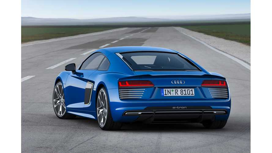 The Audi R8 e-tron, Like The Tesla Model S, Uses 18650 Battery Cells