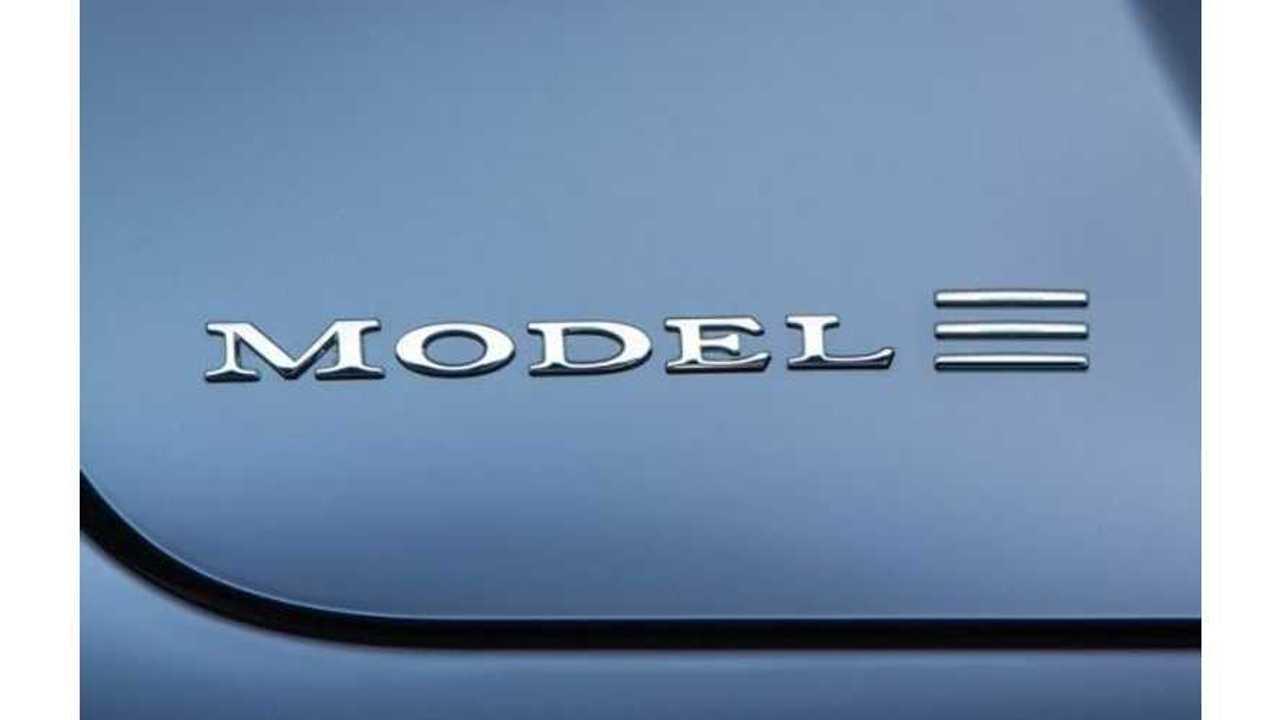 Tesla Model 3 Reveal Tentatively Set For March 2016