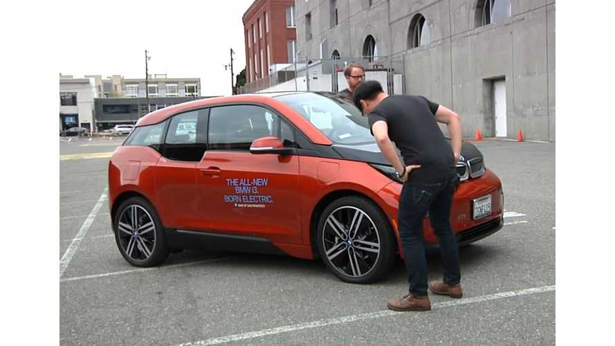 BMW i3 REx In The Hands Of Tested - Video