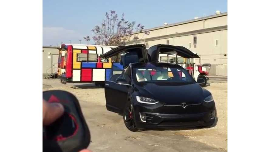 Tesla Model X Software Update 7.1 Improves Falcon Door And Seat Operation (w/video)