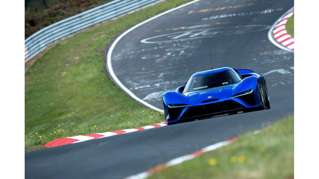 Here's The Entire Record-Setting Nio EP9 Nurburgring Lap - Video