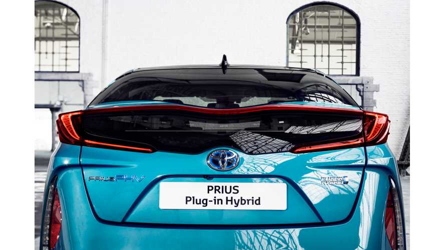New Toyota Prius Plug-In (AKA Prius Prime) Now On Sale In UK