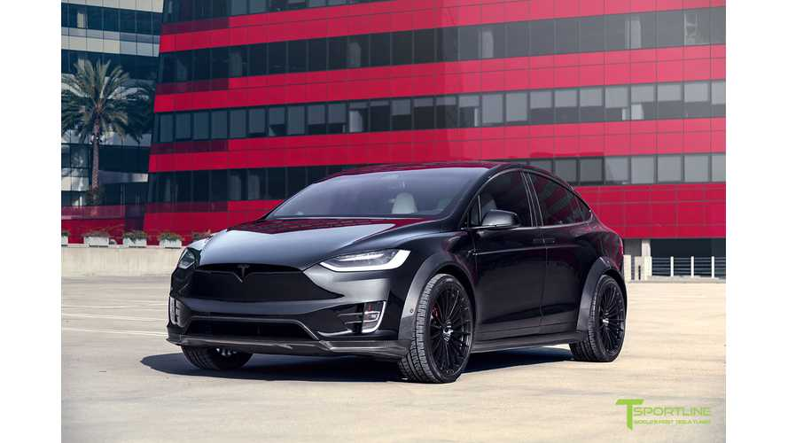 Introducing T Sportline 2018 Tesla Model X P100D T Largo Limited Edition Package