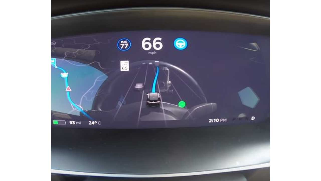 See Tesla's New Navigate On Autopilot Feature In Action