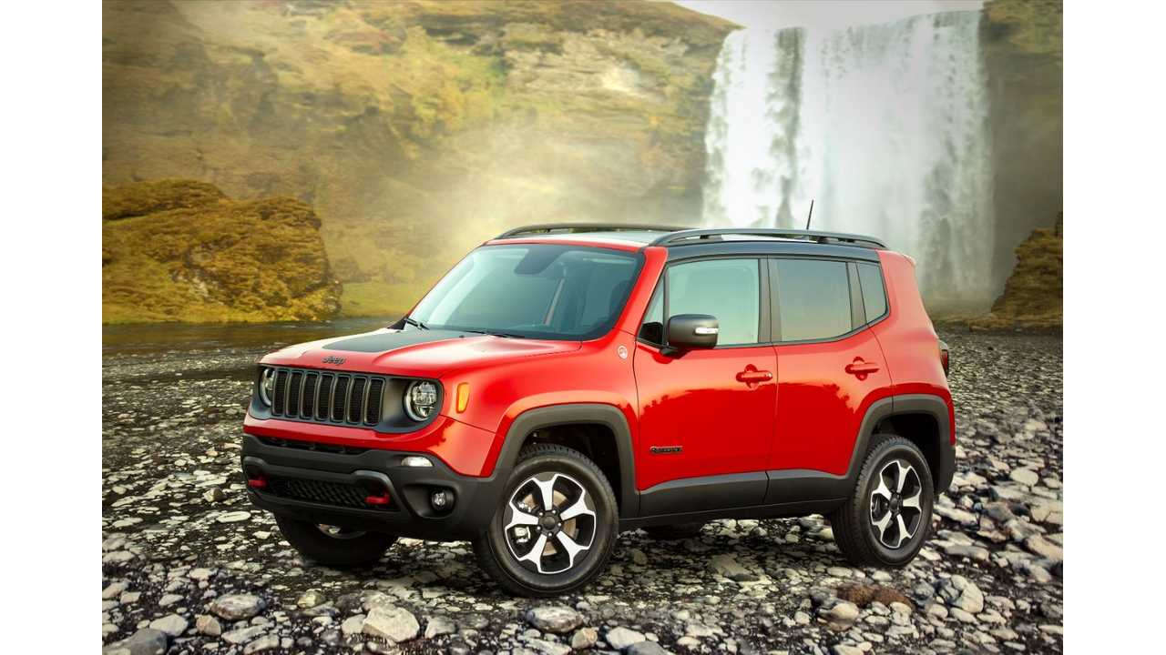 Fiat Chrysler Readies For Production Of Renegade PHEV: Launch In 2020