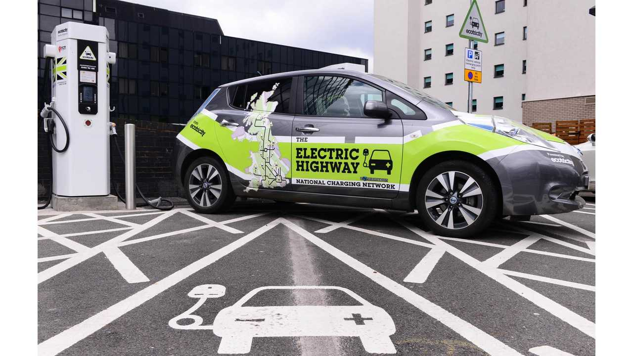 Nissan & Ecotricity Call Upon UK Government For Official Road Signage For Electric Car Charging Points