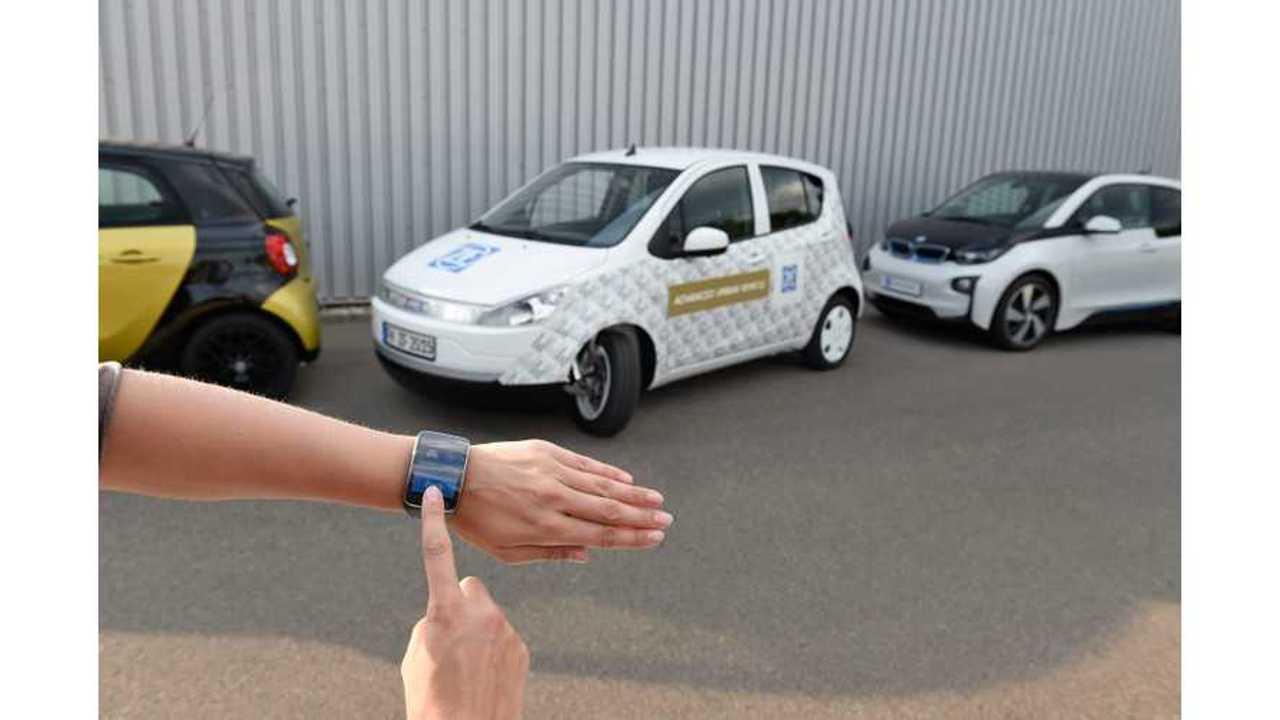 ZF Presents Its Electric Advanced Urban Vehicle