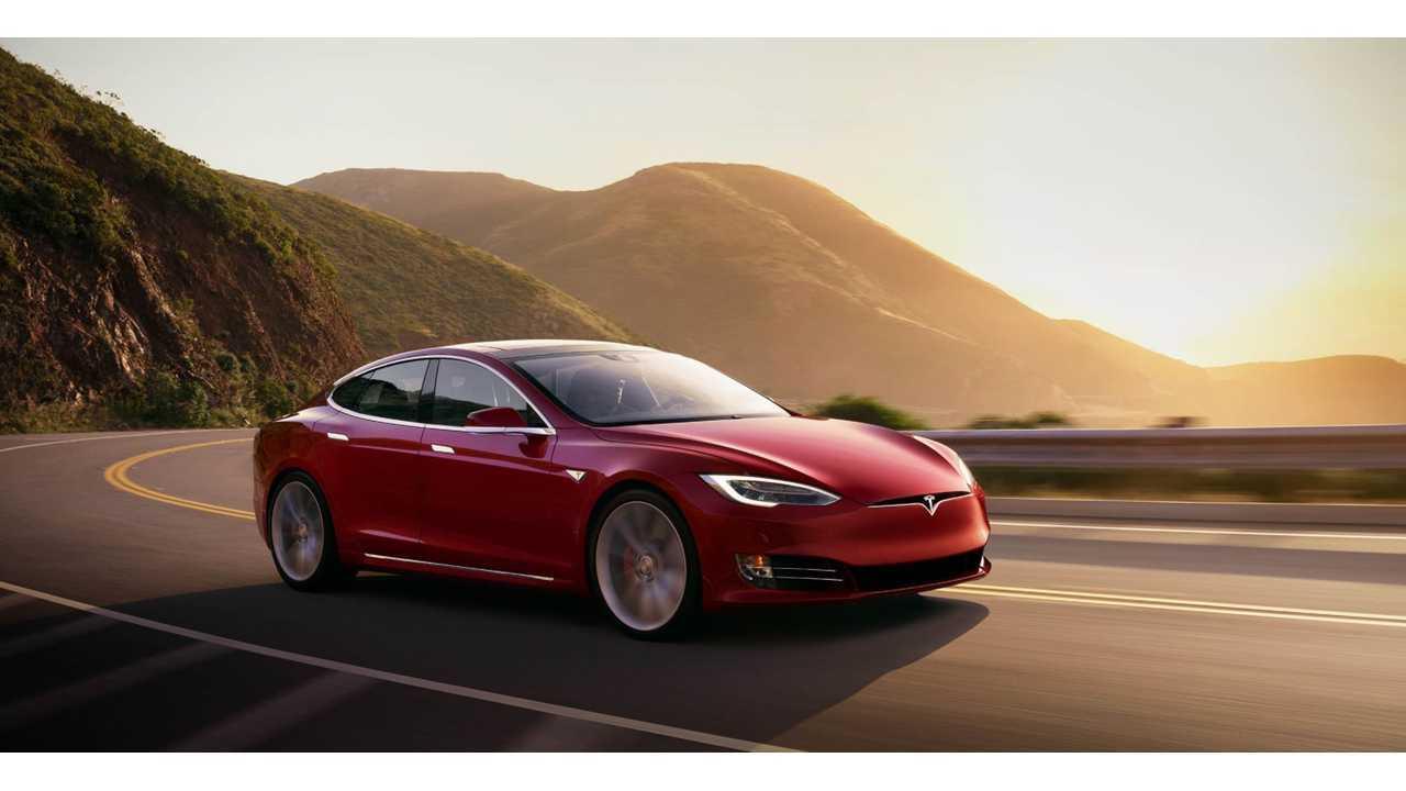 3) Tesla Model S