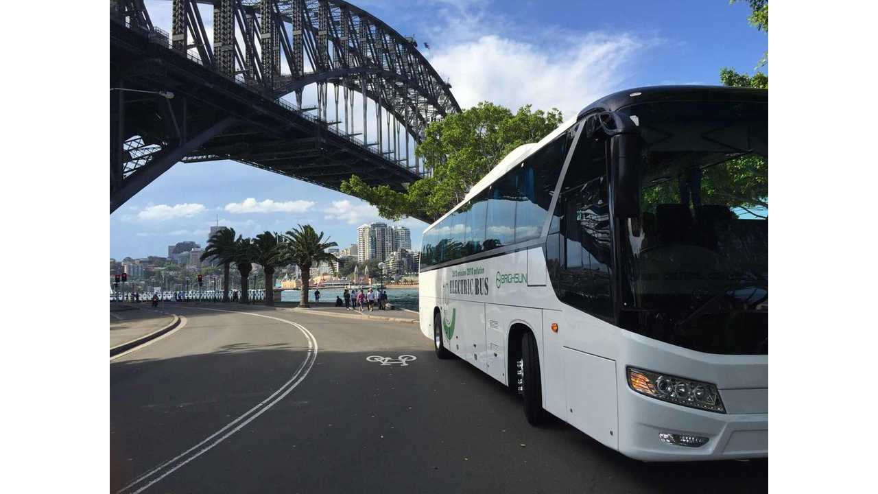 Brighsun New Energy Bus With 1,000 km (600 miles) Range?