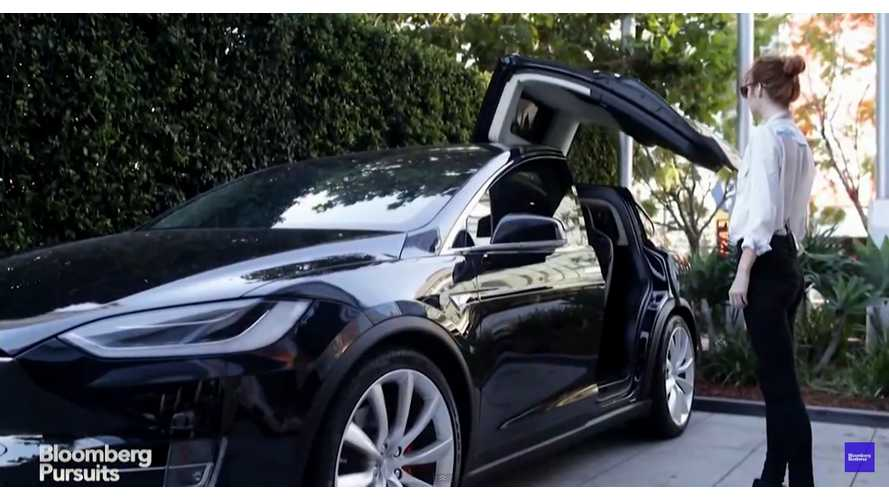 "Tesla Model X ""Review"" By Bloomberg - Video"