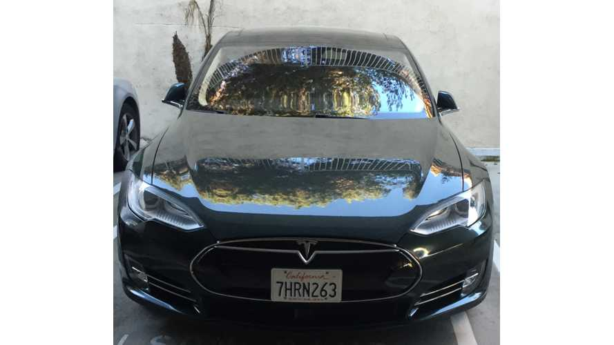 Tesla Model S Tackles The Autocross Track
