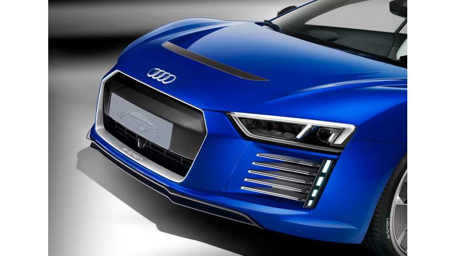 Audi And Lamborghini Both Reportedly Considering Electric Supercars