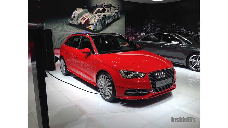 Audi Insists A3 E-Tron Is Not For California Compliance