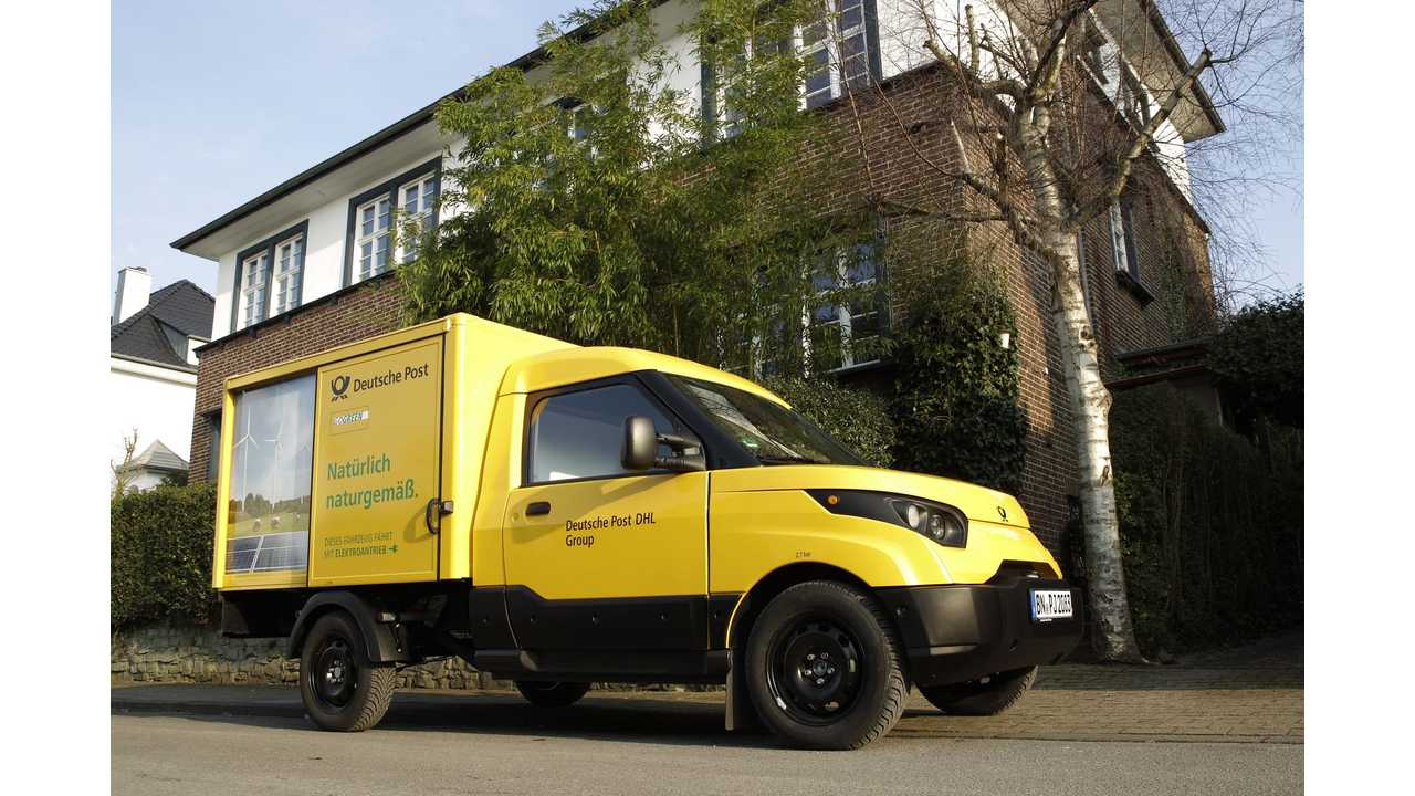 Deutsche Post Goes Electric With StreetScooter (30,000 EVs On The Table)