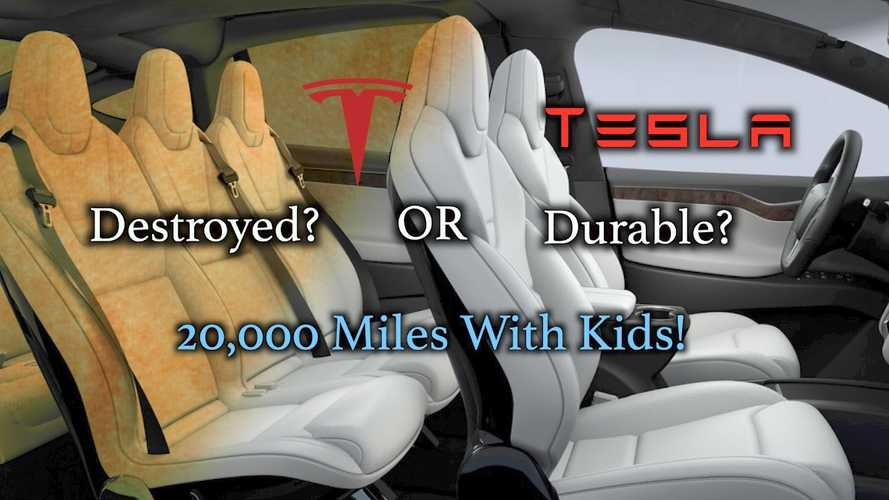 Tested: Tesla Ultra White Seats After 20,000 Miles - Video