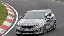 2020 BMW M135i spy photo
