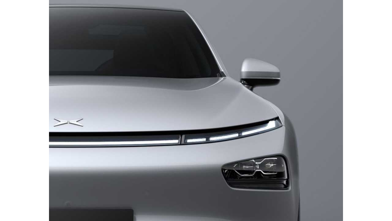XPENG Teases New P7 Electric Coupe Ahead Of Auto Shanghai Debut
