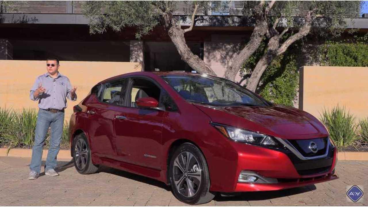 Alex On Autos Reviews New 2018 Nissan LEAF - Video