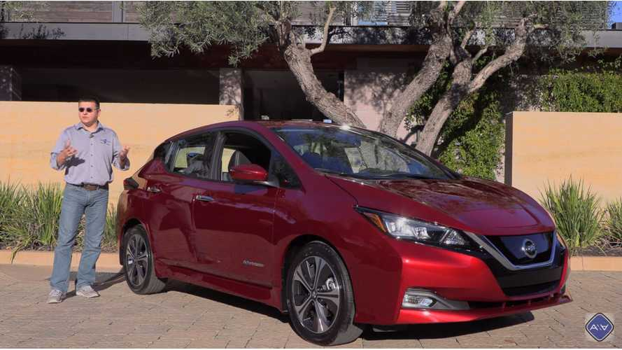 Alex On Autos Reviews New 2018 Nissan LEAF - Video