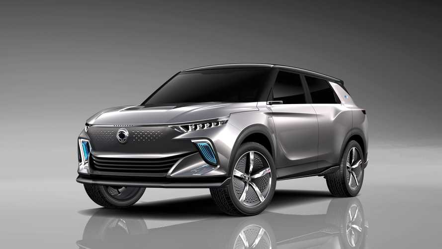 SsangYong e-SIV EV Concept Hits The Stage In Geneva