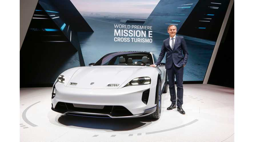 Porsche Mission E Cross Turismo - Specs, Live Photos & Videos