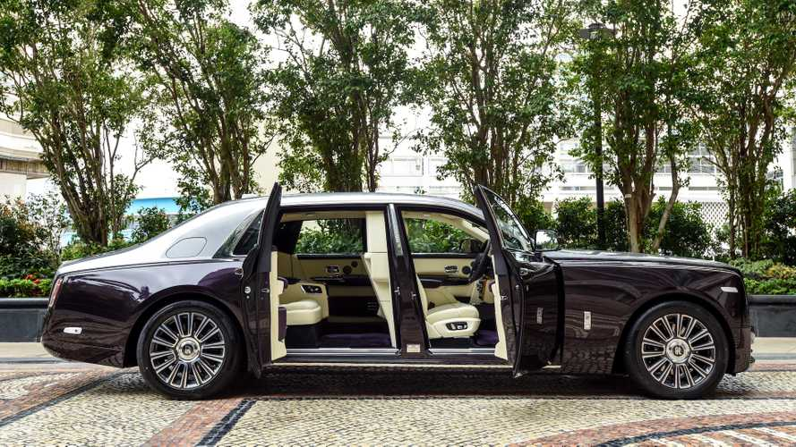Rolls-Royce Phantom with rear-seat isolation room delivered