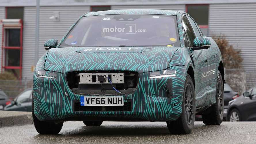 Jaguar I-Pace Sheds Body Parts, Some Camo
