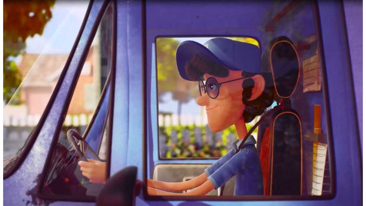 For Valentine's Day, Renault is presenting its first animated film on the subject of love and electric cars