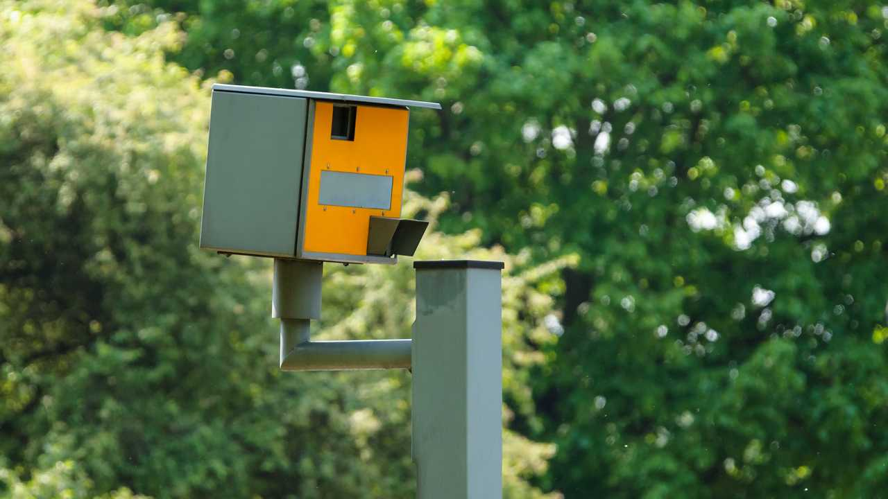 Speed camera in London UK