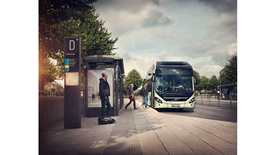 Volvo Launches 7900 Electric Hybrid Bus