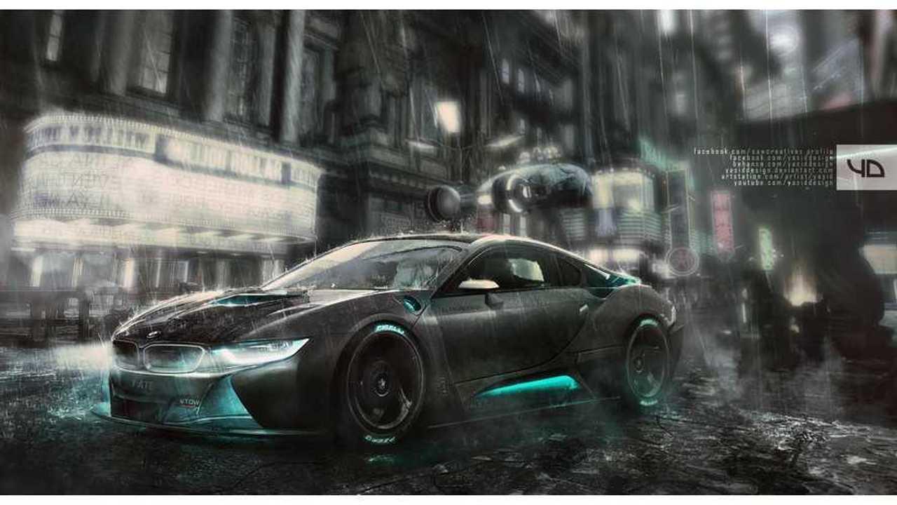 BMW i8 Blade Runner - Video