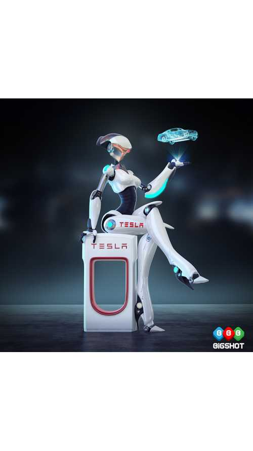Meet Tess - The Robot Who's Bringing Sexy Back To Tesla